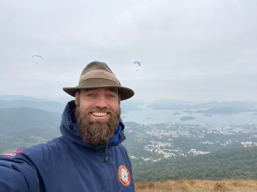 A Danish man who has visited almost every country in the world without flying has been stranded in Hong Kong for 4 months. He gave us a look inside a day in his life right now