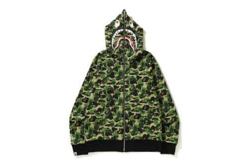 BAPE Releases Reversible Camo ABC Shark Full Zip Hoodies