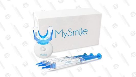 Save 30% on MySmile's Teeth Whitening Kit and Get 9 Treatments for Just $35