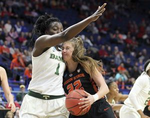Oregon State upsets Baylor 72-67 in women's NCAA Sweet 16