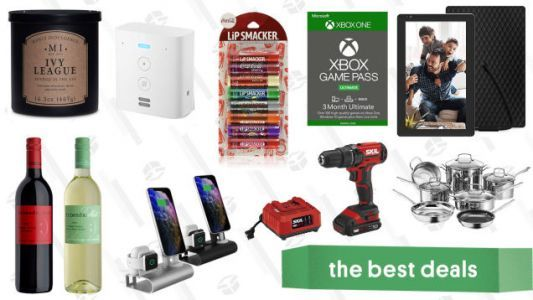 Friday's Best Deals: Amazon Echo Flex, Lipsmaker Chapstick, Cuisinart Cookware Set, Xbox Game Pass Ultimate, Pedroncelli Wine, and More