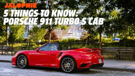 2018 Porsche 911 Turbo S Cabriolet: Five Things to Know