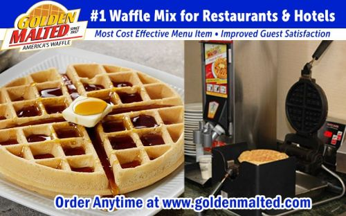 Add America's Favorite Waffles to Your Menu with Golden Malted - The 1 Waffles for Restaurants