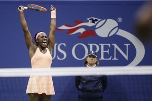 The Latest: Stephens beats Keys for US Open women's title