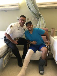 Cicero officer who was shot several times released from hospital