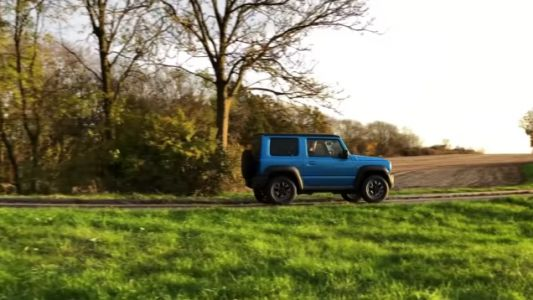 Even James May Couldn't Keep His Shit Together Over the New Suzuki Jimny