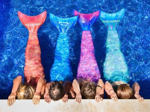 Mermaid fitness classes are now a thing - so you can exercise like you're Ariel