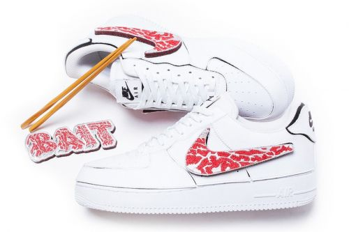 "BAIT and Nike Japan Serve up Rare Kokiesland ""A5 Waygu AF1/1"""