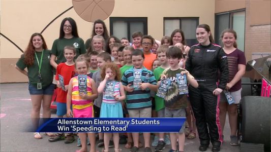 Allenstown Elementary students win 'Speeding to Read' contest
