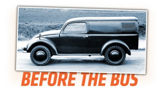 This Wartime Volkswagen Prototype Van Is Fascinating and a Little Confusing