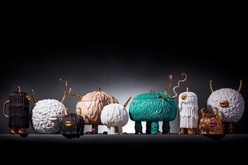 Haas Brothers x L'OBJET Link for Whimsical, Joshua Tree-Inspired Home Collection