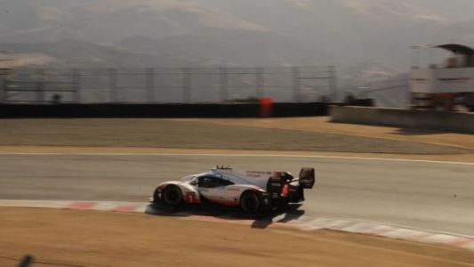 Porsche has been teasing us for three days by running the 919 Hybrid Evo at Laguna Seca for the Renn