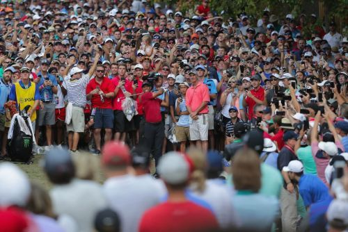 One scene at the PGA Championship shows why Tiger Woods is still the biggest rock star in sports