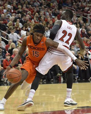 Louisville tops Virginia Tech 94-86 in back-and-forth game