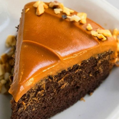 Chocolate Caramel Cake