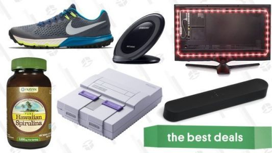 Saturday's Best Deals: Nintendo Classics, Sonos and Atmos Speakers, Nike Flash Sale, and More
