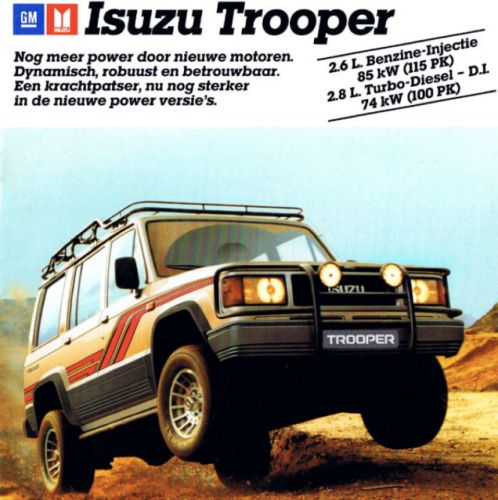 """How underrated is the Isuzu Trooper?"""