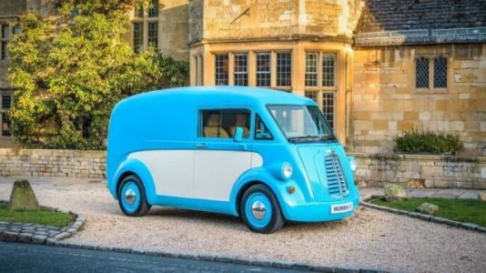 The Morris J-Type Makes A Stunning Return With The Cutest Electric Commercial Van I've Ever Seen