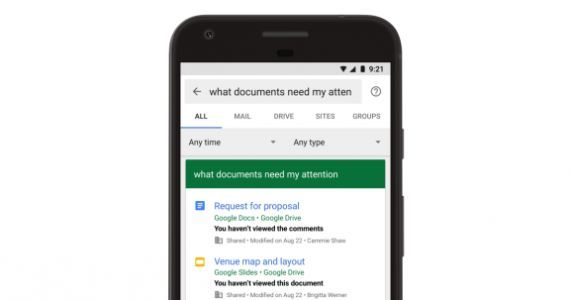 Google adds natural language features to its enterprise search product