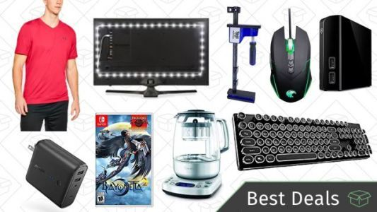 Tuesday's Best Deals: USB Travel Charger, Bias Lights, Breville Tea Maker, and More