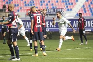 Sassuolo fights back from 3-1 down to beat Bologna 4-3