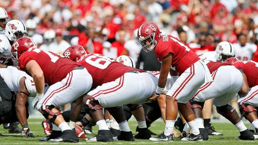 College football's biggest Week 2 overreactions: Alabama leads nation's top division