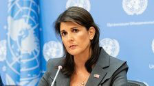 State Department Spent $52,700 On Curtains For Nikki Haley
