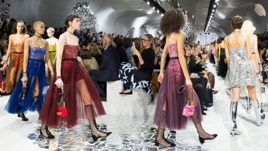 See Every Look From Dior's Spring 2018 Collection