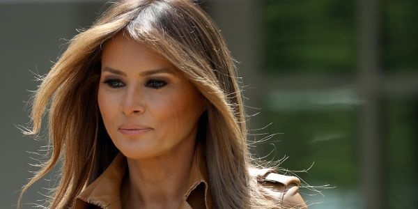 33 photos show how Melania Trump has evolved as first lady