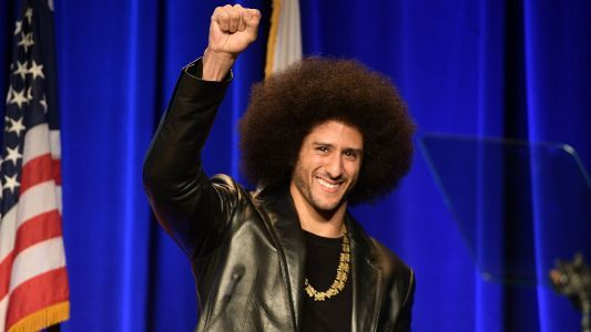 Colin Kaepernick recipient of the W.E.B. Du Bois Medal from Harvard