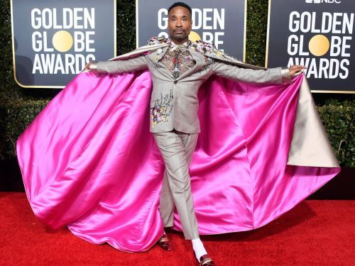 Billy Porter reflects on the pink cape that 'changed everything' and helped turn him into 2019's trendiest celebrity on the red carpet