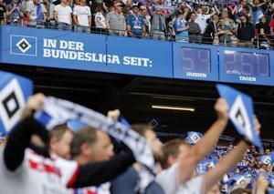 Hamburger SV relegated amid chaotic scenes in Bundesliga