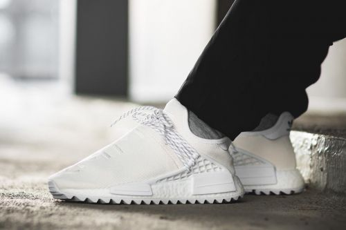 "Adidas Hu NMD Trail ""Blank Canvas"" On-Feet Look"