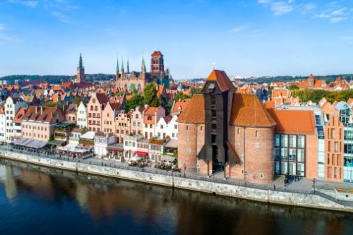New direct route with Norwegian to Gdansk from Göteborg Landvetter