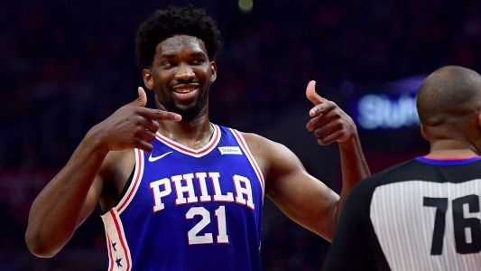 Now an All-Star, Joel Embiid 'might have to pass' on Rihanna