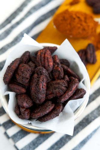 Copycat Trader Joe's Cocoa Chile Spiced Pecans Recipe