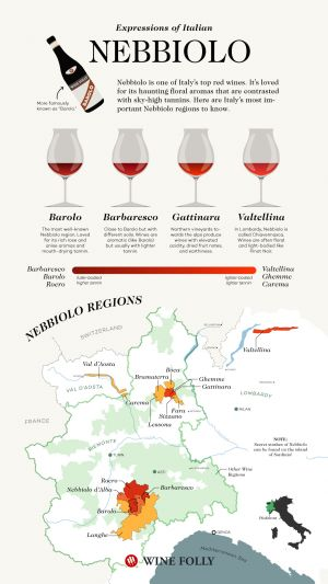 """Barolo, Barbaresco, and the """"Other"""" Nebbiolos of Italy"""