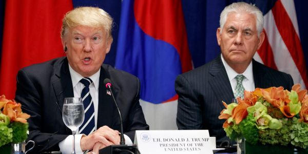 Trump ousts Secretary of State Rex Tillerson