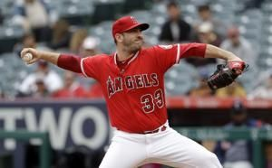Angels place Harvey on 10-day IL following rough outing