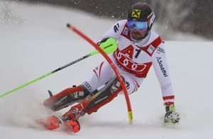 Kristoffersen wins slalom, ends Hirscher's winning streak