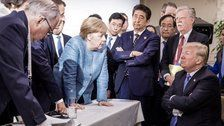 One Magnificent Photo Sums Up Donald Trump's G-7 Visit