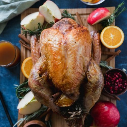 Apple Cider Rosemary Turkey