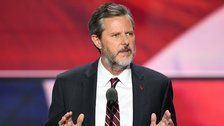Jerry Falwell Jr. Insults Founding Fathers To Defend Trump's Jerky Behavior