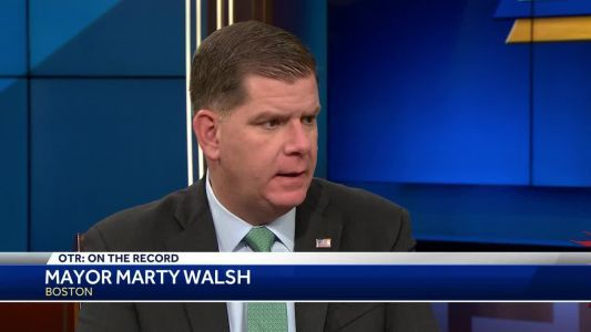 OTR: Mayor Marty Walsh discusses violent crime in Boston