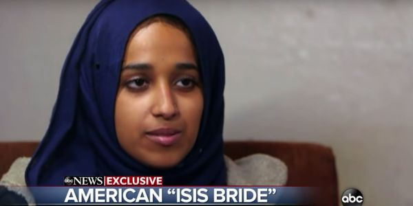 'She's a terrorist. We don't need people like her': Pompeo slams ISIS bride begging to return to US