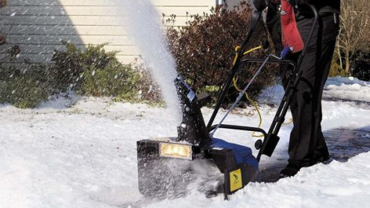 Don't Get Trapped In The Snow, Get a $105 Sun Joe Electric Snow Thrower
