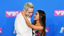 Ariana Grande And Pete Davidson Make Red Carpet Debut At 2018 MTV Video Music Awards