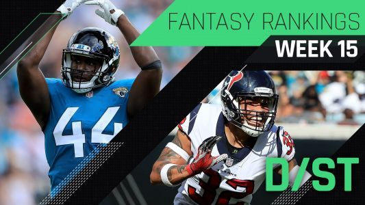Week 15 Fantasy Rankings: Defense