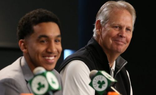Heart still in the job, Danny Ainge isn't stressed by Celtics' task ahead