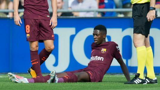 The €150m injury - Dembele disaster threatens to disrupt Barcelona's season